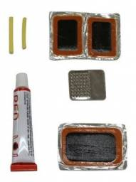 R$7,90 - Kit Cola Remendo Bestfer Reparo Para Bicicletas