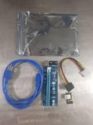 Riser PCI-e X16 para Rig de Mineração