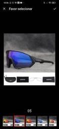 Óculos de ciclismo, com 5 lentes