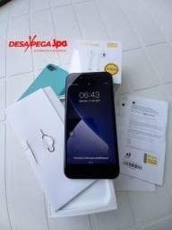 Iphone 7 Black 32gb impecável com fone sem fio Carregador original  aceito trocas