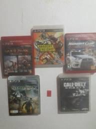 vendo 5 jogos de ps3