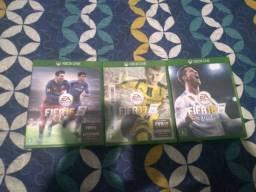 FIFA16+FIFA17+FIFA18 XONE ORIGINAIS