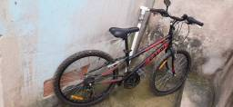 Bicicleta Caloi Max aro 24 com 21 Marchas e freio V-brake