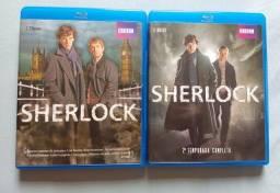 Blu-Ray Sherlock BBC (1ª e 2ª temporadas) 4 discos