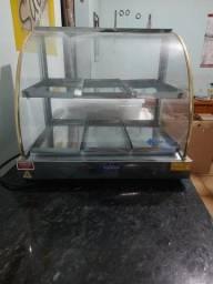 Estufa para salgados dupla 6 bandejas elétrica