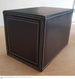 Porta Cd Dvd Multilaser Deslizante Couro Sintético