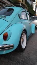 Fusca Azul ano 74 motor 1300, fusquinha