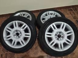 5 Rodas aro 16 com pneu