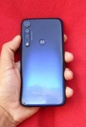Moto G8 Plus Perfeito Azul turquesa 64GB!