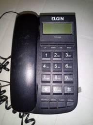 Aparelhos de telefone com fio Intelbras e Elgin. Usado