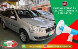 PALIO 2012/2013 1.4 MPI ATTRACTIVE WEEKEND 8V FLEX 4P MANUAL