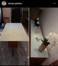 Plotagem de mesa