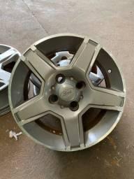 Jogo roda aro 15 original Ford Ecosport freestyle usado