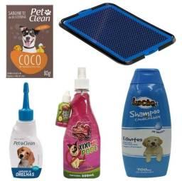 ?Kit para cachorro pronta entrega?SANITÁRIO/Xixi sim, não/limpador/sabonete/Shampoo 2x1