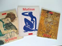Trio de revistas Taschen de Pintores Consagrados
