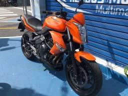 Kawasaki ER6N 2011 aceito cartão 24 x 1.5% Am aceito moto na troca Fin 48 x
