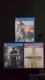 Jogos PS4 - Vendo ou Troco