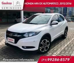 Honda HRV 1.8 EX Automático, 2015/2016 - Flex