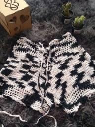 Short crochê