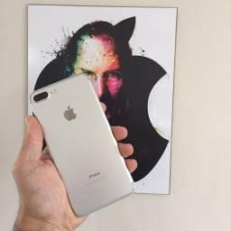 iPhone 7 Plus Silver 256GB Muito Bem Cuidado