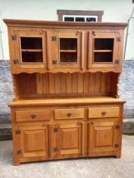 Armário em madeira de demolição