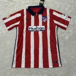 Camisa de time Atlético de Madrid Casa