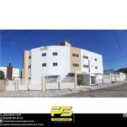 Apartamento com 2 dormitórios à venda, 66 m² por R$ 178.000 - Castelo Branco - João Pessoa