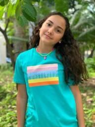 Lindas T-Shirts 100% algodão