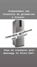 Consertos de geladeiras em geral