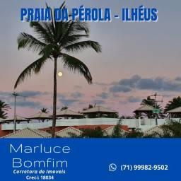 Oportunidade! Praia da Pérola, 2/4 e Chalés 3/4 - vista mar - Ilhéus-BA
