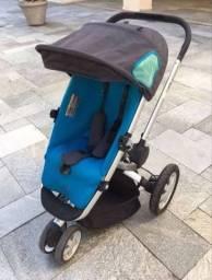 Carrinho de bebê Quinny Buzz azul