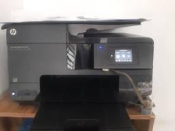 Impressora mult-funcional HP Officejet Pro 8610, com bulk