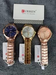 Relógios femininos CURREN (9007) 3 Cores