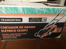 Cortador de grama elétrico Tramontina  1100w - voltagem 110
