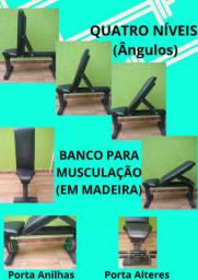 SUPER PROMOÇÃO  Banco de musculação (madeira)
