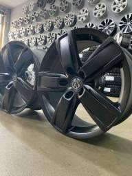 Rodas Amarok Highline 18? original Volkswagen Grafite carbono semi brilho