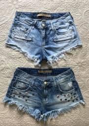 Short jeans curto DAMYLLER - original