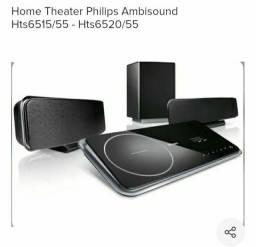 Home Theater Philips Ambisound Hts 6520 - Precinho Especial e Surreal
