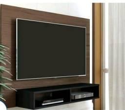 Painel para tv Sala ou quarto ébano Novo