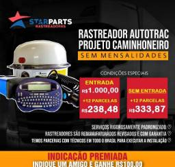 Rastreador Autotrac Projeto Caminheiro kit cavalo mecânico