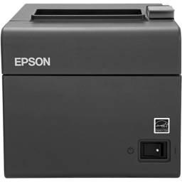 KIT: Impressora Térmica Epson TM-T20 + Leitor de Cód. de Barras