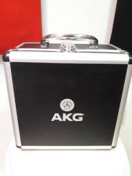 Microfone Akg P420 + Pop Filter