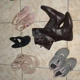 Kit calçados infantis n°32/ 33