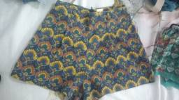 Bazar, saia e shorts de 5 a 10 reais