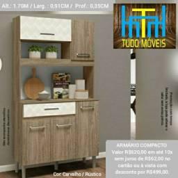 Cozinha Compacta (montagem grátis)