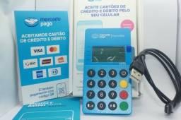 Maquininha mercado pago com aproximação NFC