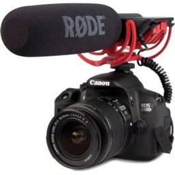 Microfone Profissional de Câmera Rode AudioMic