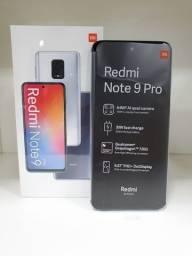 Smartphone Xiaomi Redmi Note 9 Pro 128GB Rom / 6GB Ram Cinza Novo (Lacrado)