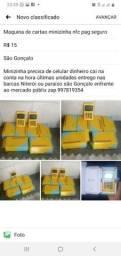 Maquina de cartao minizinha nfc pag seguro