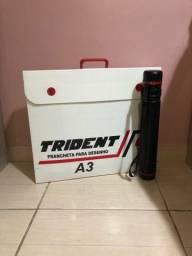 Prancheta Trident A3 + Tubo Telescópico Extensível